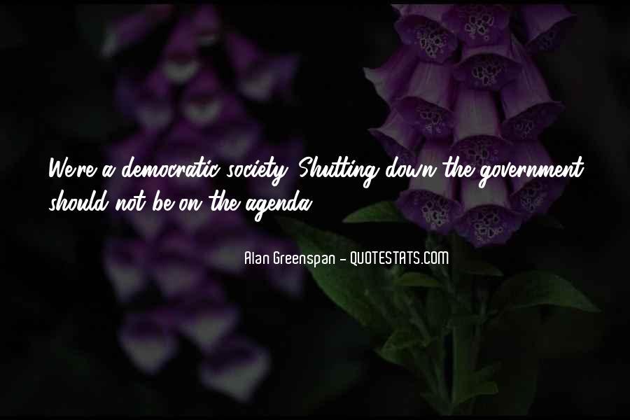 Quotes About Democratic Society #522369