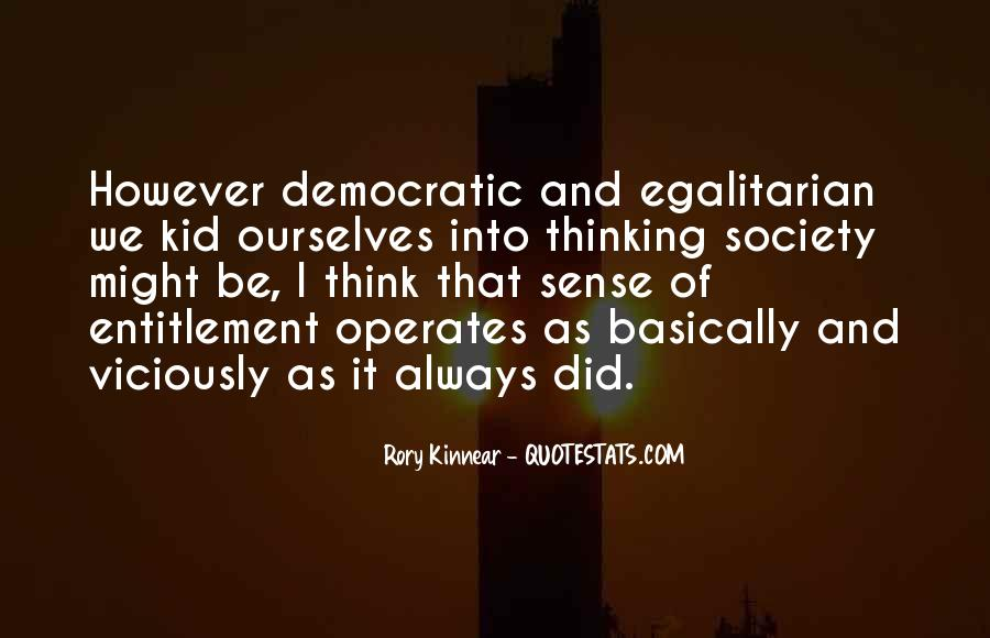 Quotes About Democratic Society #5949