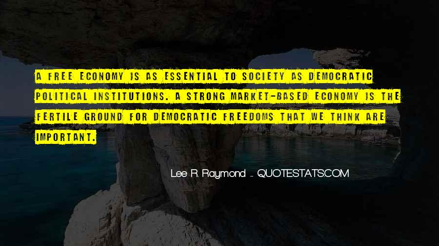 Quotes About Democratic Society #626562