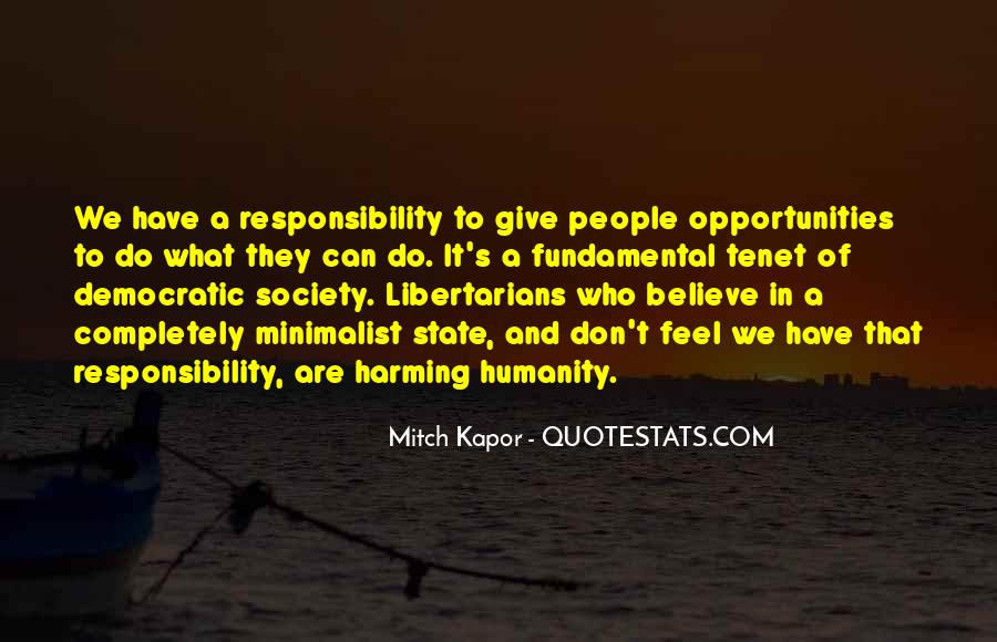 Quotes About Democratic Society #643726
