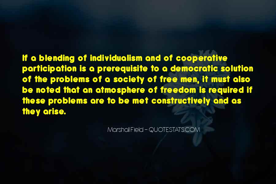 Quotes About Democratic Society #798396