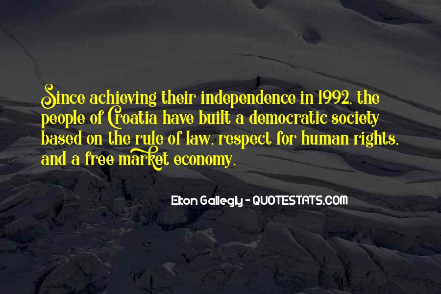 Quotes About Democratic Society #846260