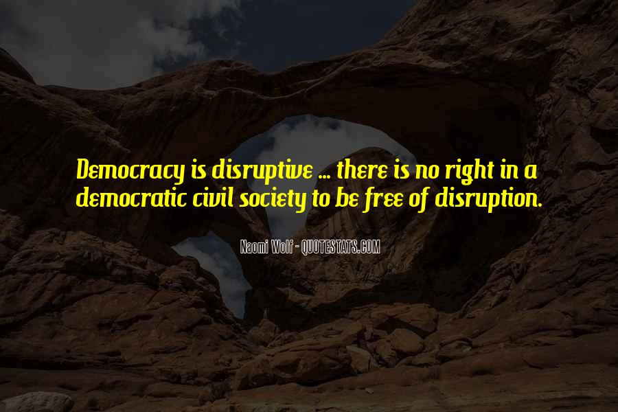 Quotes About Democratic Society #864140