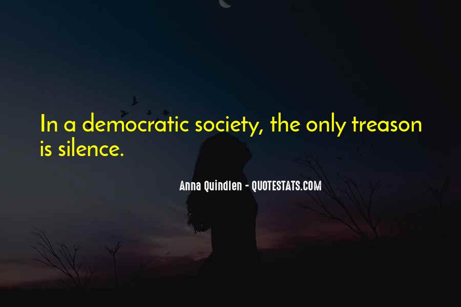 Quotes About Democratic Society #933074