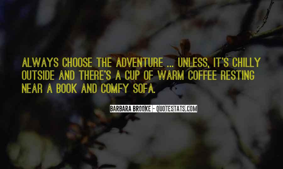 Quotes About Winter And Coffee #1681854