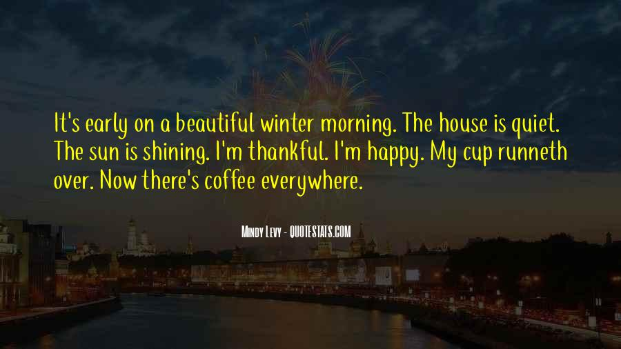 Quotes About Winter And Coffee #729668