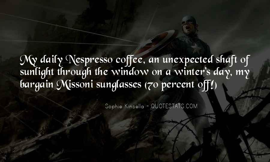 Quotes About Winter And Coffee #900147