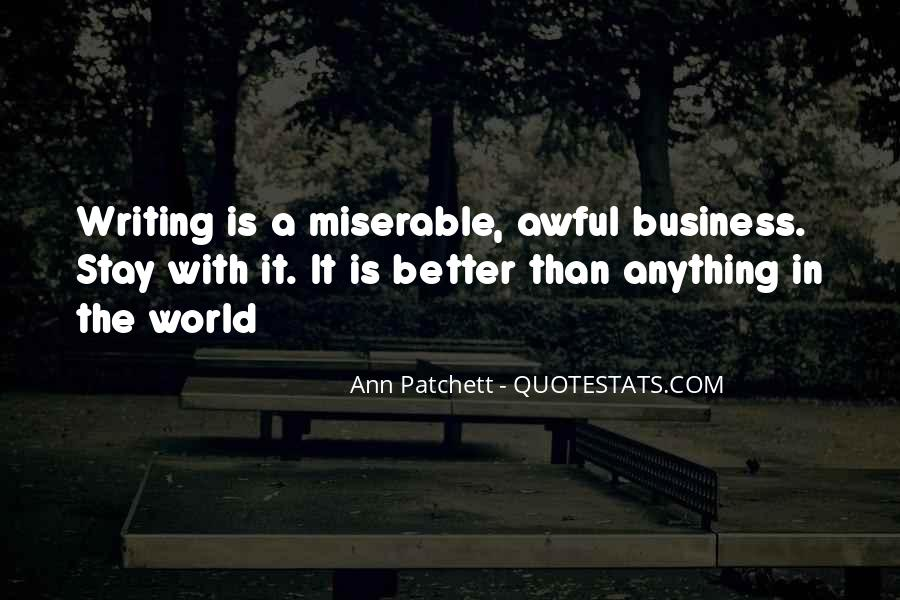 Quotes About Awful #47339