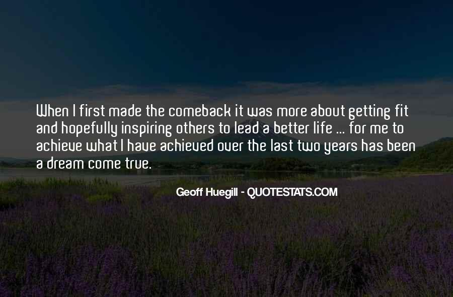 Quotes About A Comeback #1020126