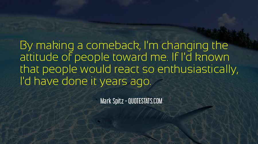 Quotes About A Comeback #1140649