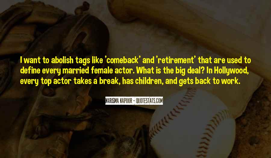 Quotes About A Comeback #1188649