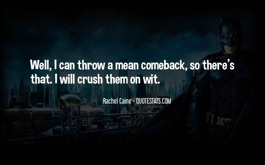 Quotes About A Comeback #1397200