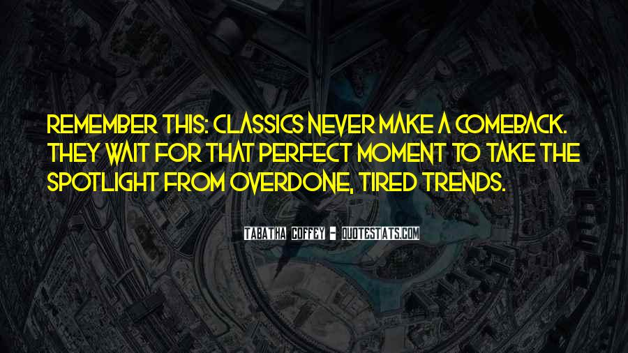 Quotes About A Comeback #1399069
