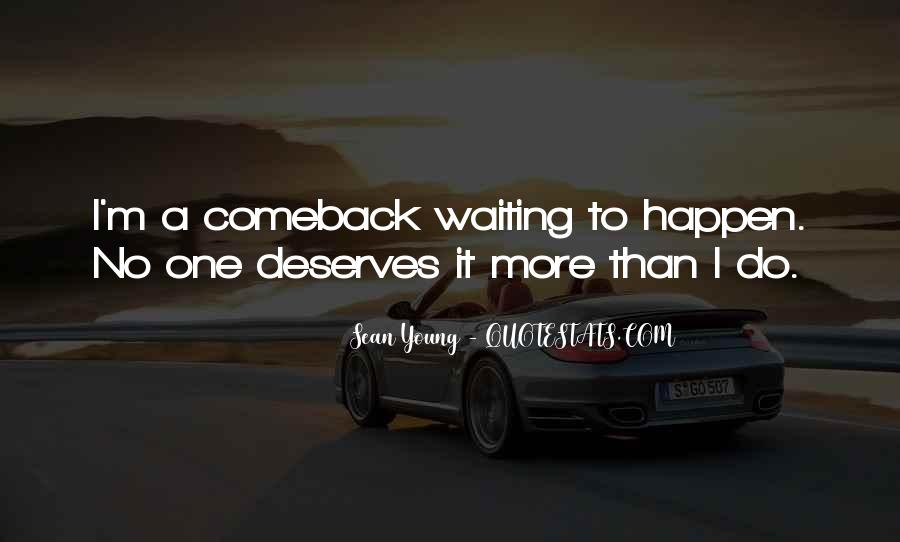 Quotes About A Comeback #371060