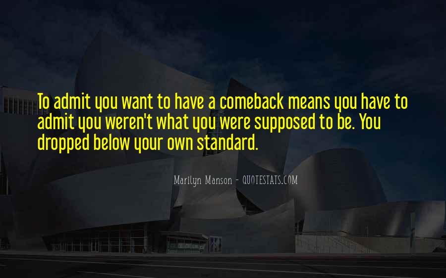 Quotes About A Comeback #38569