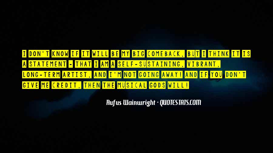 Quotes About A Comeback #740847