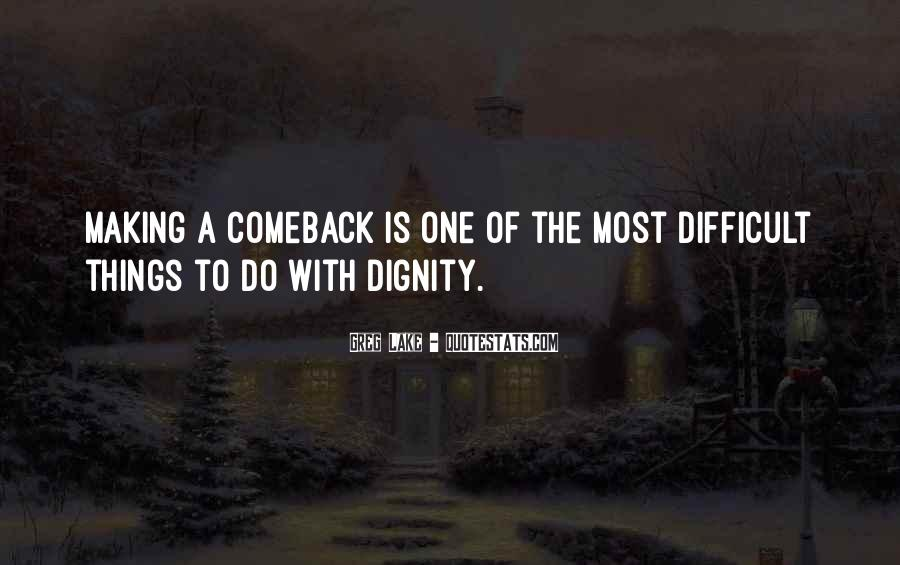 Quotes About A Comeback #772022