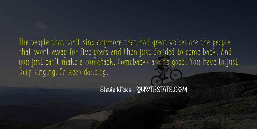 Quotes About A Comeback #799483