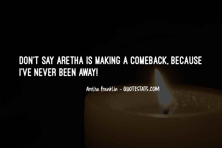 Quotes About A Comeback #814668