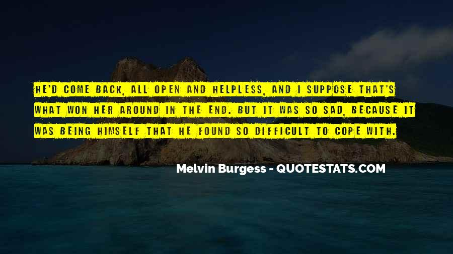 Quotes About The Helpless #108985