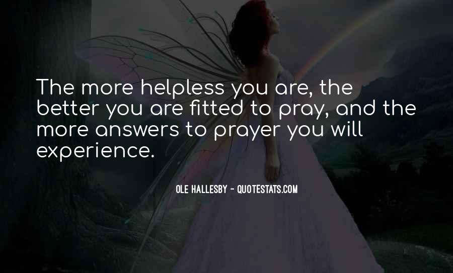 Quotes About The Helpless #12088