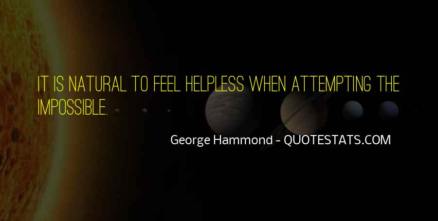 Quotes About The Helpless #133355