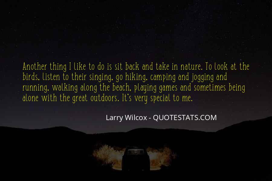 Quotes About Camping On The Beach #1225175