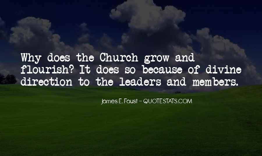 Quotes About Church Members #1008511