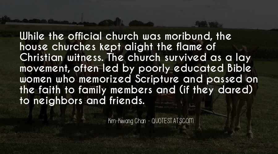 Quotes About Church Members #1074065