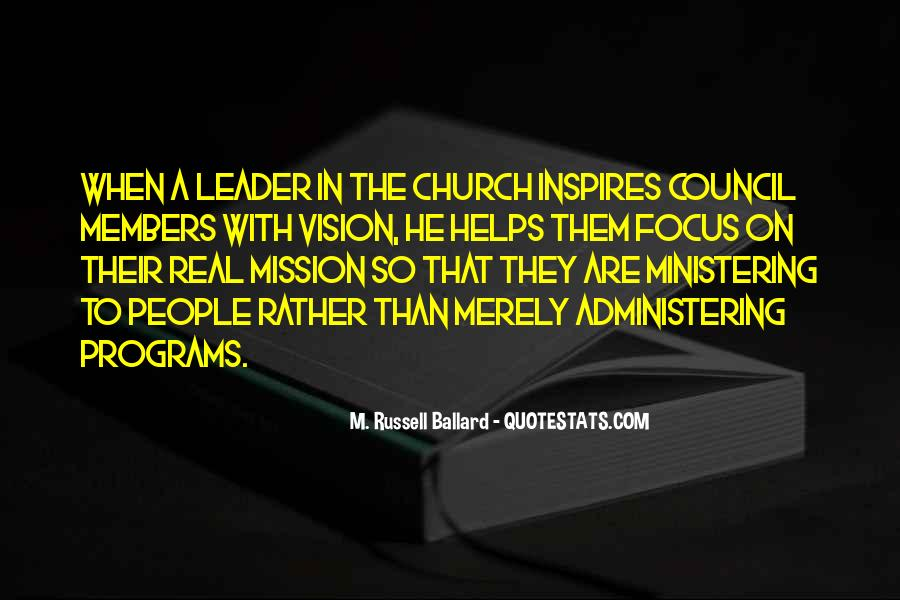 Quotes About Church Members #11344