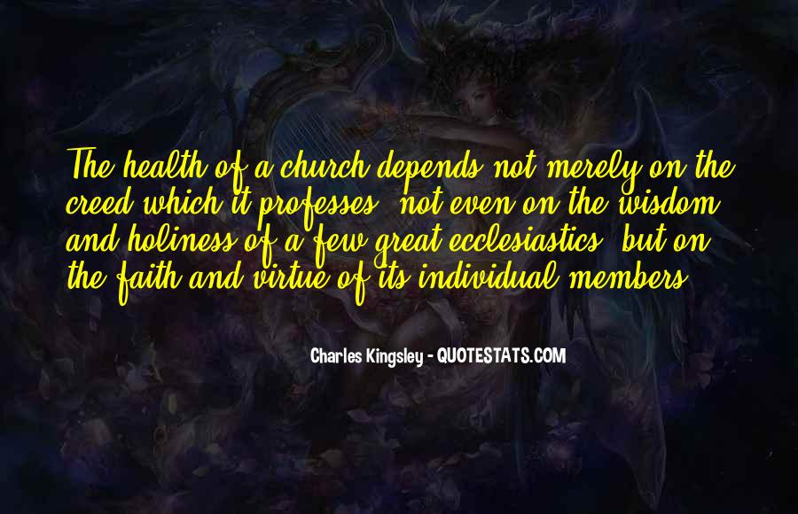 Quotes About Church Members #1184100