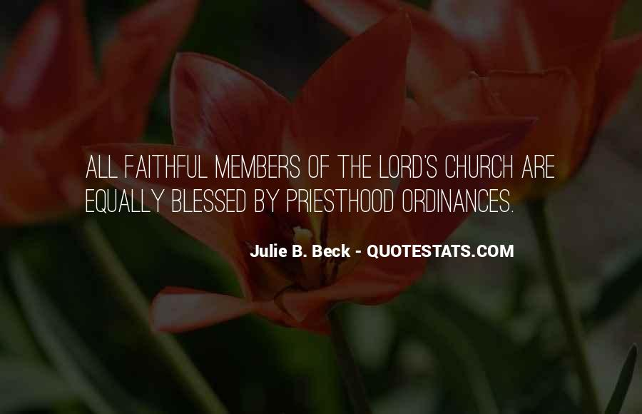 Quotes About Church Members #118973