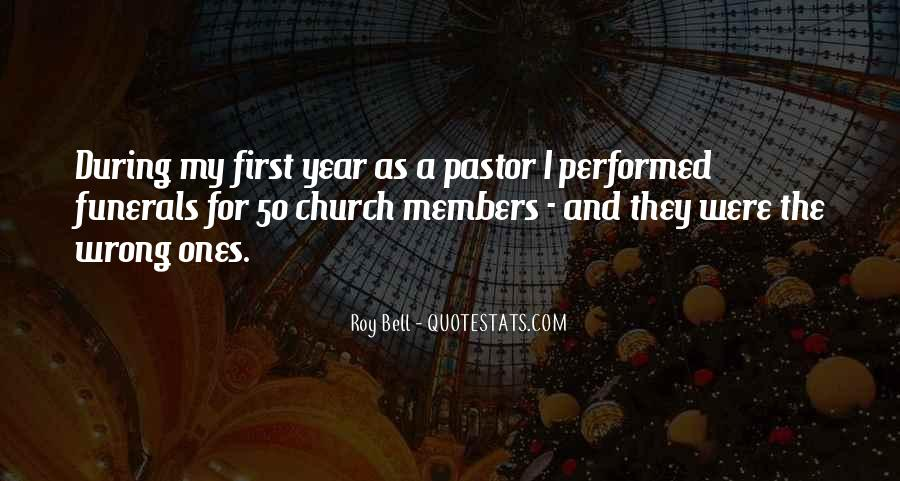 Quotes About Church Members #1240771