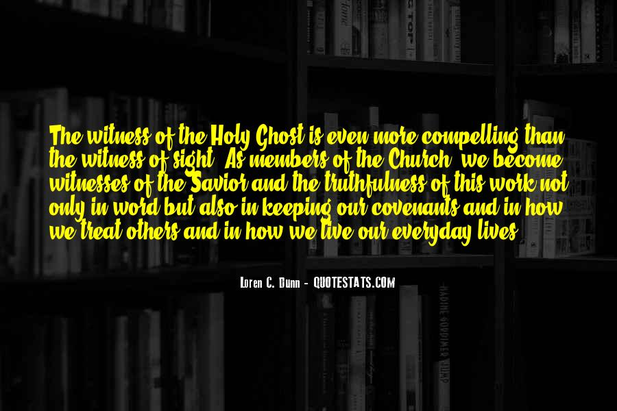 Quotes About Church Members #1314702