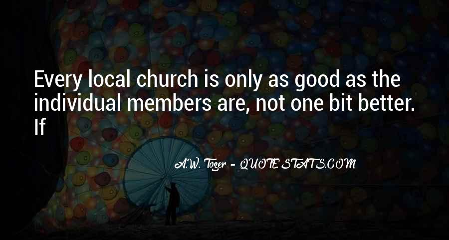Quotes About Church Members #1369959