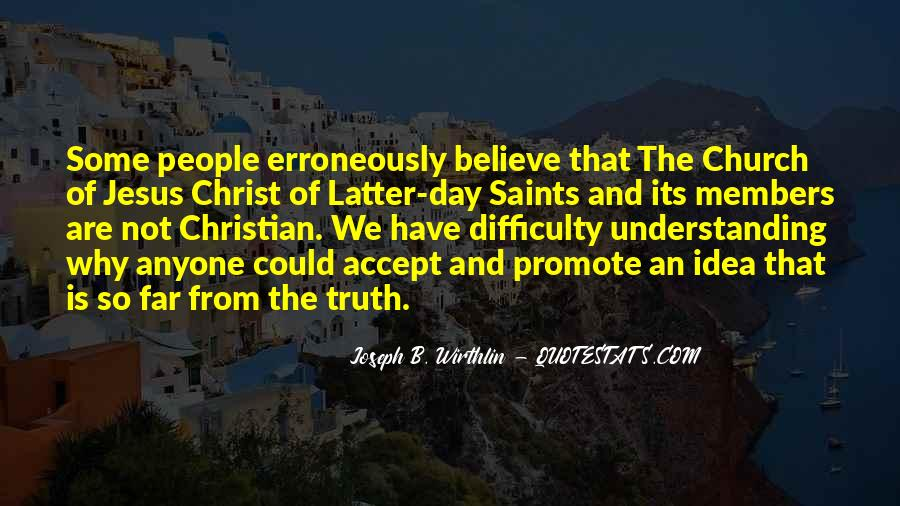 Quotes About Church Members #1381480