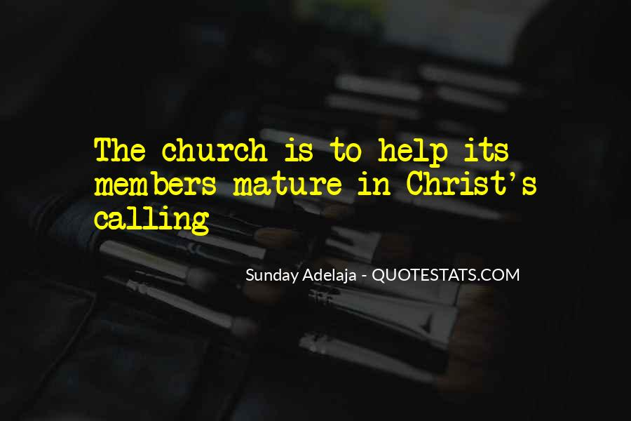 Quotes About Church Members #140866