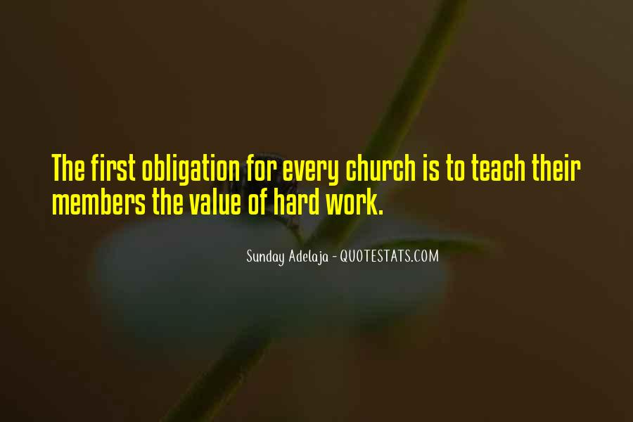 Quotes About Church Members #186876