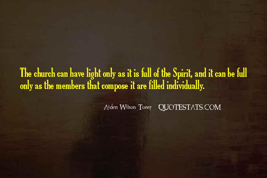 Quotes About Church Members #237492