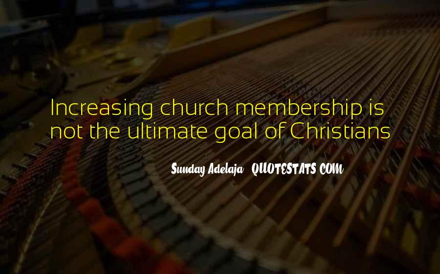 Quotes About Church Members #267262