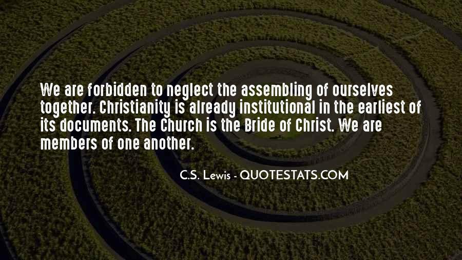 Quotes About Church Members #449813