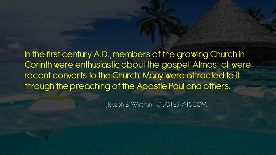 Quotes About Church Members #499580