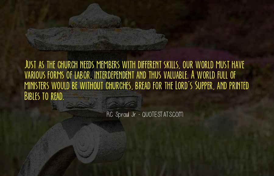 Quotes About Church Members #541070