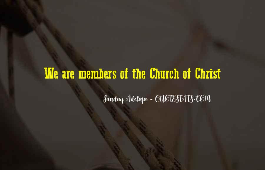 Quotes About Church Members #551478