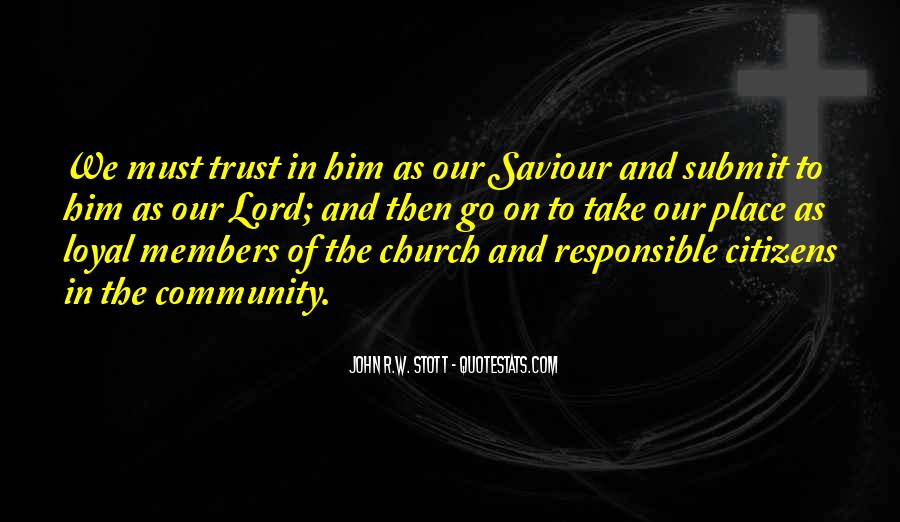 Quotes About Church Members #749206