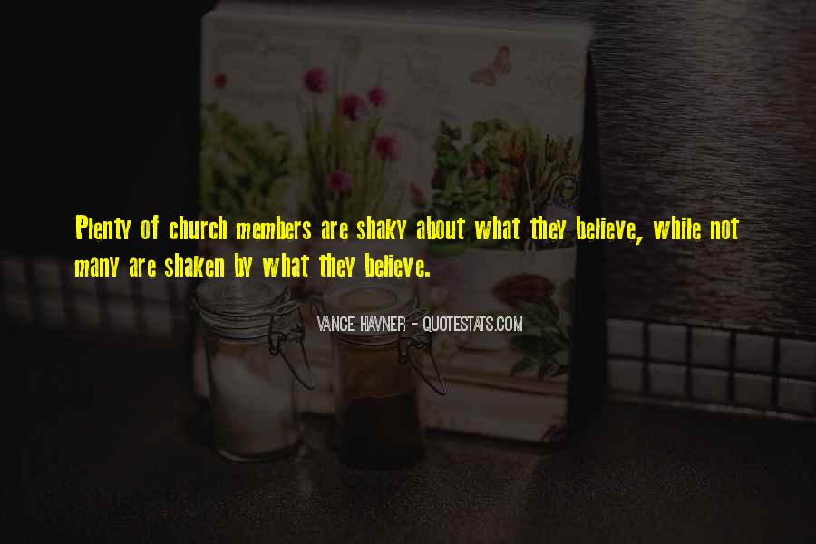 Quotes About Church Members #858964