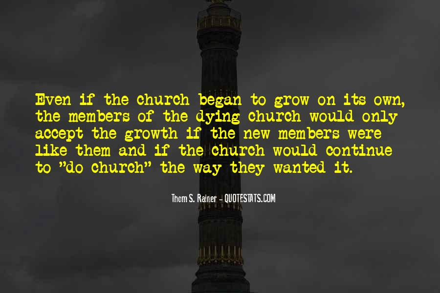 Quotes About Church Members #864642