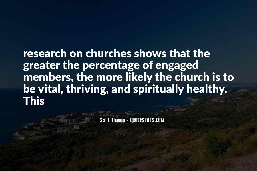 Quotes About Church Members #873375