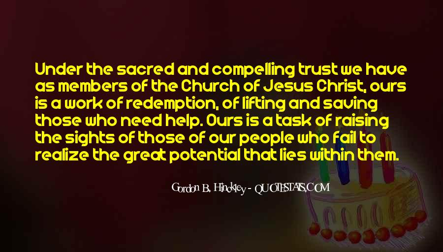 Quotes About Church Members #890886