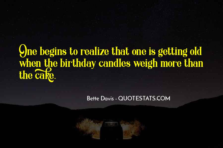 Quotes About Birthday Cake #1034364